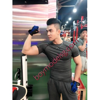 822 hàng đĩnh 20cm gym boy